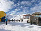 Winter Holidays In The Alps