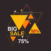 Big sale 50, 75 percent
