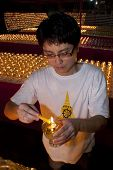 Wesak Day at the Buddhist Maha Vihara Temple