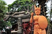 Sculpture on East Nusa Tenggara, Indonesia