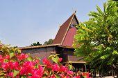Traditional house on East Kalimantan, Indonesia