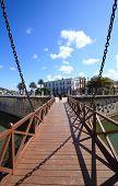 Bridge to the castillo de la Real Fuerza