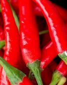 Chilli Peppers Indicates Spice Capsaicin And Chilies