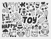 Doodle Toy Background