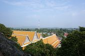 Under Construction Of Thai Buddhist Temple