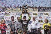 Sonoma, CA - Jun 22, 2014: Carl Edwards (99) wins the
