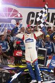 Concord, NC - May 25, 2014:  Jimmie Johnson (48) wins the