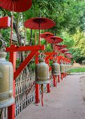 Buddhist Bells In Chiang Mai, Thailand