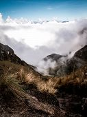 Cloud Filled Valley Inca Trail