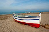 Traditional Spanish Fishing Boat