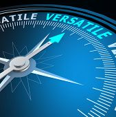 Versatile Word On Compass
