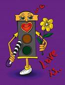 Love Traffic Light