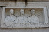 Bas relief in Appian way