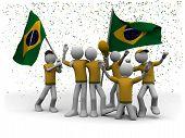 brazilian football fans