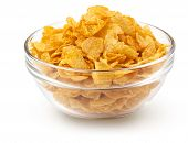 bowl of corn flakes