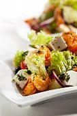 foto of lenten  - Salad with Seafood - JPG