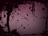 Purple Splatter Background