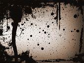 Brown Splatter Background