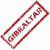 stock photo of gibraltar  - New Gibraltar grunge rubber stamp on a white background - JPG
