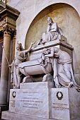 Dante Tomb Basilica Santa Croce Florence Italy