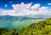 stock photo of cho-cho  - Beautiful landscape in Himalayas mountains - JPG