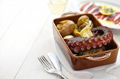 picture of batata  - grilled octopus with potatoes - JPG