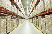picture of export  - interior of warehouse - JPG
