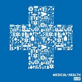 image of medical  - Set icon medical - JPG
