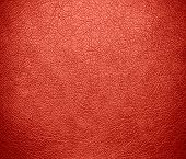stock photo of bittersweet  - Bittersweet color leather texture background - JPG