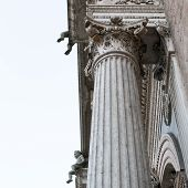 picture of ferrara  - Ancient architecture in the downtown of Ferrara