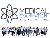 foto of check  - Medical Examination Check Up Diagnosis Wellness Concept - JPG