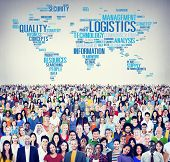 picture of production  - Logistics Management Freight Service Production Concept - JPG