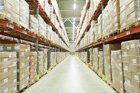 image of warehouse  - interior of warehouse - JPG