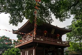 stock photo of piety  - guangxiao temple on the guangxiao road - JPG