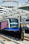 Light rail system train