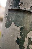 Paint Flaking off Pole