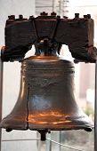 Liberty bell in Philadelphia Pa.