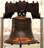 Liberty bell in Philadelphia P.A