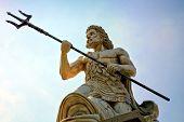 Statue des Poseidon