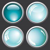 Buttons. Vector.