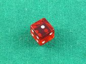 Red Casino Würfel Numebr fünf