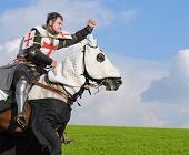 King Templar - cavalier on horse