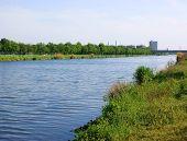 Small Dutch Channel Near Helmond