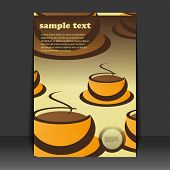 image of coffee-cup  - Flyer design - JPG