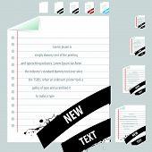 text frame ribbon