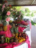 foto of buffet catering  - wedding reception buffet - JPG