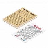 Confidential Information File Folder poster