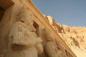 Deir el-Bahari, Luxor, Ägypten.