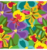 Summer Orchid Pattern