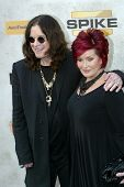 CULVER CITY, CA - JUNE 5: Ozzy Osbourn & Sharon Osbourne arrive at the 4th annual Spike TV's